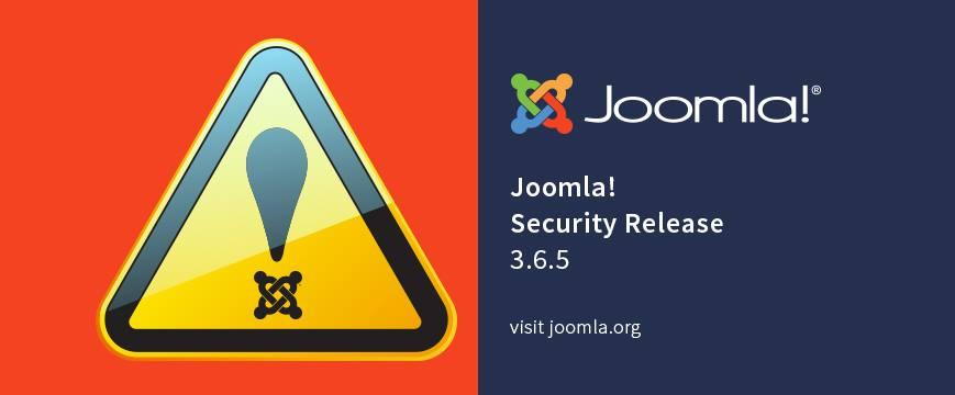 Joomla 3.6.5 update