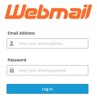 webmail cPanel login