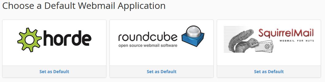 Webmail Default App