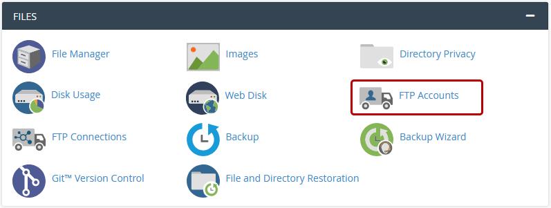 FTP account icon